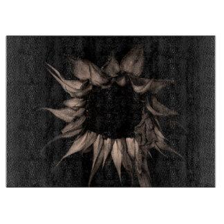 Sonnenblume - schöne einzigartige coole feine schneidebrett