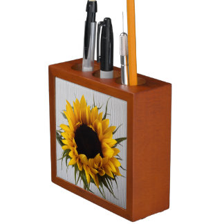 Sonnenblume-Schreibtisch-Organisator Stifthalter