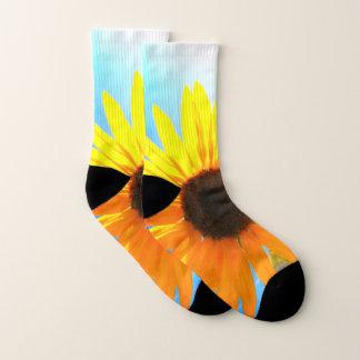 Sonnenblume-Socken Socken