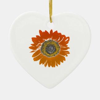Sonnenblume-Sonnenschein Keramik Ornament