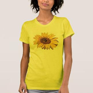 Sonnenblume-Sonnenschein-T - Shirt