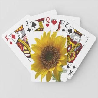 Sonnenblume-Spielkarte-Plattform Spielkarten