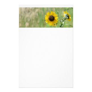 Sonnenblume stationär briefpapier