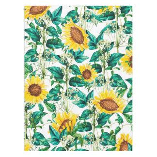 Sonnenblume-Tal Tischdecke