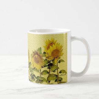 Sonnenblume-Tasse