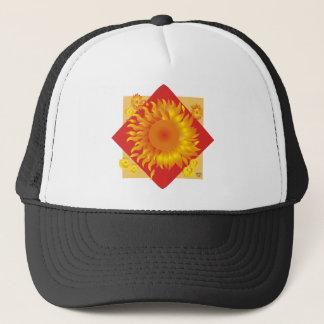 Sonnenblume Truckerkappe