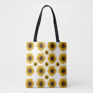 Sonnenblume-überall wiederverwendbare Einkaufstüte Tasche
