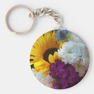 Sonnenblume-Überraschung Schlüsselanhänger