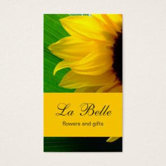Sonnenblume-Visitenkarte Visitenkarte