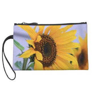 Sonnenblumeblütentasche Kleine Clutch