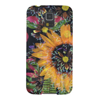 Sonnenblumecollage Samsung S5 Hülle