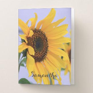 Sonnenblumedokumentenordner Mappe