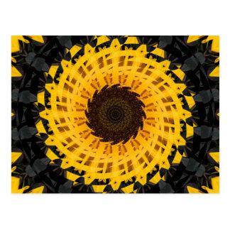 Sonnenblumedrehbeschleunigung Postkarte
