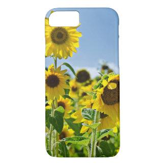 Sonnenblumefeld iPhone 8/7 Hülle