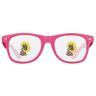 Sonnenblumegrammophon Partybrille