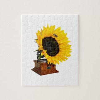 Sonnenblumegrammophon Puzzle