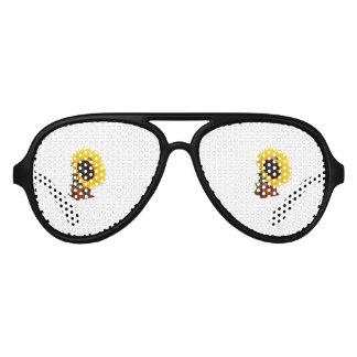 Sonnenblumegrammophon Sonnenbrille