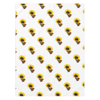 Sonnenblumegrammophon Tischdecke