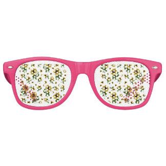 Sonnenblumemuster Sonnenbrille
