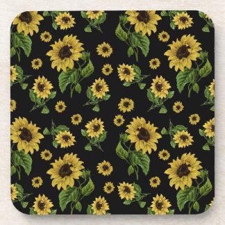 Sonnenblumemuster Untersetzer