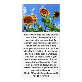 Sonnenblumen 2 karte