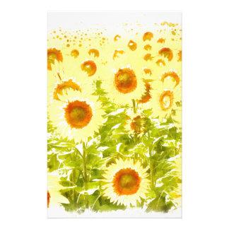 Sonnenblumen Briefpapier