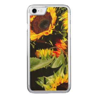 Sonnenblumen Carved iPhone 8/7 Hülle