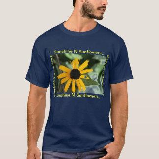 Sonnenblumen des Sonnenschein-N T-Shirt
