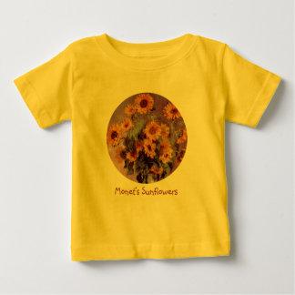 Sonnenblumen durch Claude Monet Baby T-shirt