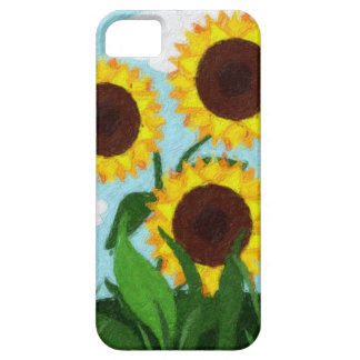 Sonnenblumen Etui Fürs iPhone 5