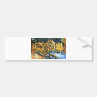 Sonnenblumen F. 376 ~ Van Gogh Autoaufkleber