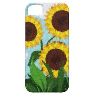 Sonnenblumen iPhone 5 Schutzhüllen