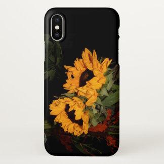 Sonnenblumen iPhone X Hülle