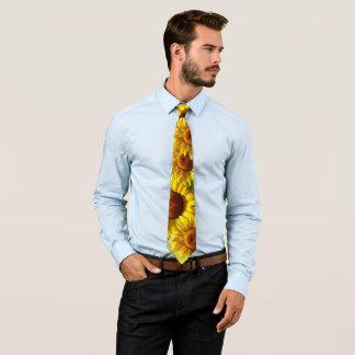 Sonnenblumen Krawatte