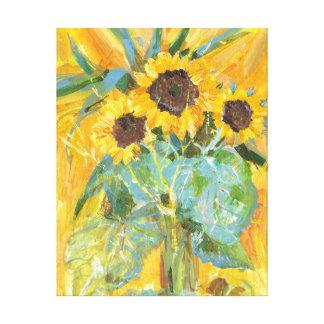 Sonnenblumen Leinwanddruck