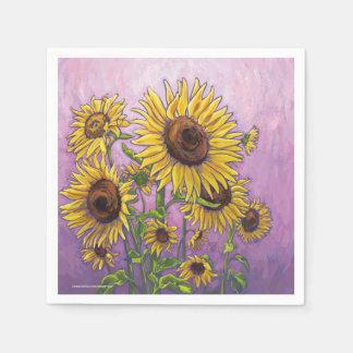 Sonnenblumen Papierserviette