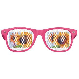Sonnenblumen Partybrille