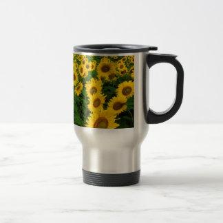 Sonnenblumen Reisebecher