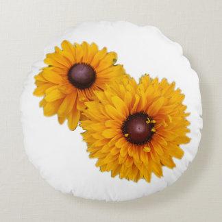 Sonnenblumen Rundes Kissen