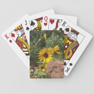 Sonnenblumen Spielkarten