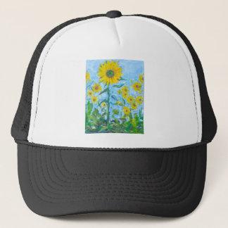 Sonnenblumen Truckerkappe