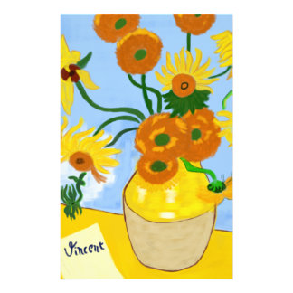 Sonnenblumen Van Gogh Briefpapier