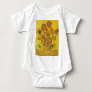 Sonnenblumen - Vincent van Gogh Baby Strampler