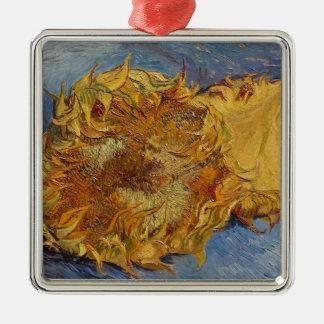 Sonnenblumen Vincent van Goghs |, 1887 Silbernes Ornament