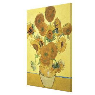 Sonnenblumen Vincent van Goghs  , 1888 Leinwanddruck