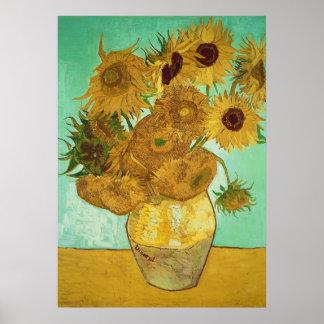 Sonnenblumen Vincent van Goghs |, 1888 Poster