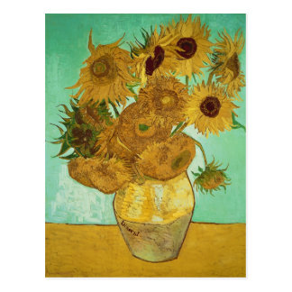 Sonnenblumen Vincent van Goghs |, 1888 Postkarte