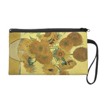 Sonnenblumen Vincent van Goghs  , 1888 Wristlet Handtasche