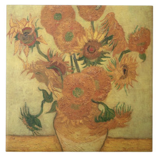 Sonnenblumen Vincent van Goghs |, 1889 Keramikfliese