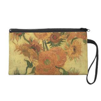 Sonnenblumen Vincent van Goghs  , 1889 Wristlet Handtasche